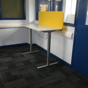 an image of one of the library's standing desks
