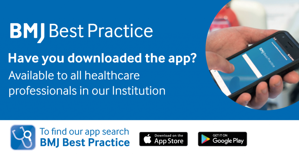 BMJ Best Practice app information